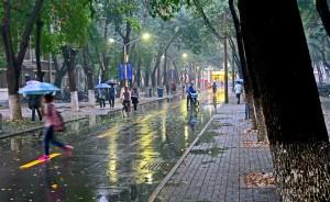 rain in Tianjin