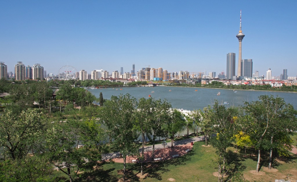The Tianjin Water Park