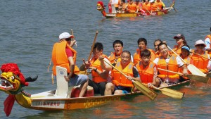 Light-hearted rowers