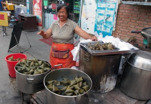 A local Zongzi Dealer