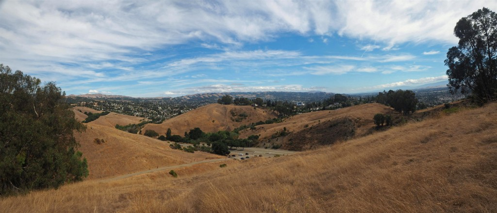 Castro Valley panorama from Fairmont Ridge