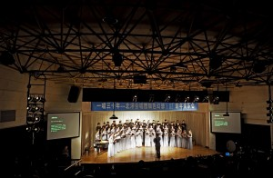 I also heard the Tianjin University Choir this month.