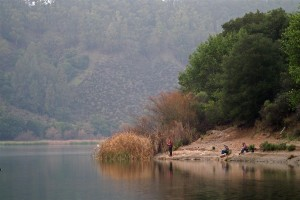 Fishing at Lake Chabot