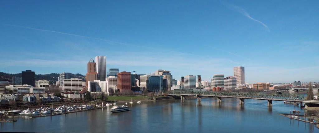 Downtown Portland Riverfront
