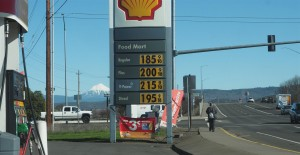 Cheap Gas by Mt. McLaughlin