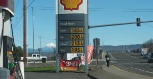 Cheap Gas by Mt. McLaughlin